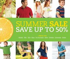 Lands' End Summer Sale - save up to 50% off and get free shipping! ShopYourWay - via http://bit.ly/epinner