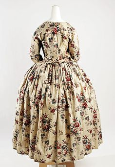 Dress  Date: 18th century Culture: French Medium: cotton