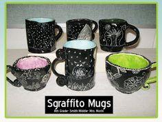 Mrs. Morin's Art Room: Sgraffito