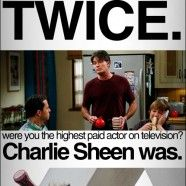 Here is a fun one we did during the whole Charlie Sheen fiasco.