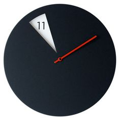 Freakish Clock Black, 69€, now featured on Fab.