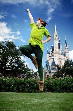 Peter Pan at Disney World!