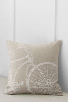 "18"" x 18"" Bicycle Decorative Pillow Cover or Insert from Lands' End"