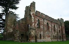 Acton Burnell Castle is a 13th-century fortified manor house, located near the village of Acton Burnell, Shropshire, England. The manor house was built in 1284 by Robert Burnell, Bishop of Bath and Wells, friend and advisor to King Edward I.