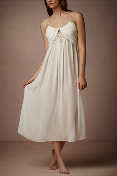 Lace Window Chemise from BHLDN