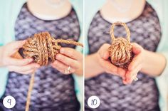 how to tie a nautical (monkey) knot
