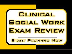Clinical Social Work Exam Review http://www.aswbsecrets.com Relying on the right study materials is absolutely essential for success on the ASWB Master test. What you see in the video is only a tiny sample of the high quality prep materials in our ASWB Master study guide. #aswb #mometrix