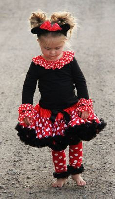 Minnie Mouse Girl Halloween Costume or Birthday by SouthernRoyals, $45.00