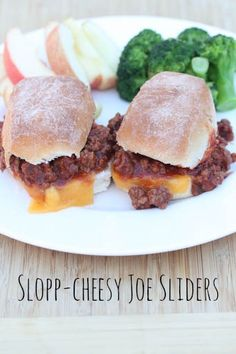 Slopp-Cheesy Joe Sliders Recipe | 5DollarDinners.com