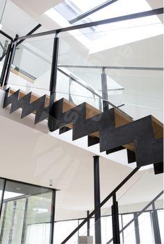 Main courante escalier bois