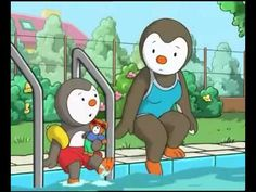 French for kids on pinterest french lessons learn - Tchoupi piscine ...