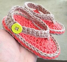 Chubby Baby Flip-Flop Sandals by Elizabeth Mareno
