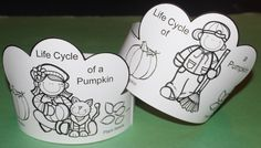 I have added a free download for Life of a Pumpkin hats.  Click on the link to access file. (or cut and paste). http://www.teacherspayteachers.com/Product/Life-Cycle-of-a-Pumpkin-Crown-1505911  Thank you. Jean 1 - 2- 3 Learn Curriculum