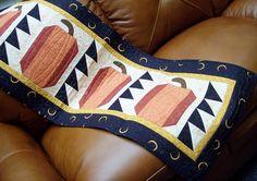 Pumpkins Table Runner Quilt Kit