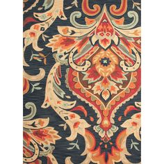 I pinned this Verena Rug in Navy from the Jaipur event at Joss and Main!