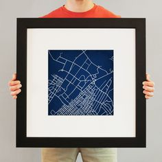 Penn State Street Map Artwork. I need this!