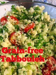 Grain-free Tabbouleh recipe: