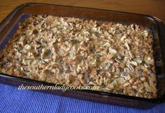 """Seven Layer Bars   The Southern Lady Cooks ~ My mom called these """"Hello Dolly Bars."""" She never used butterscotch chips, which is my preference."""