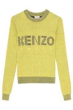 Kenzo Paris Yellow Sweater