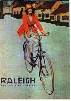 Vintage Raleigh / The All Steel Bicycle