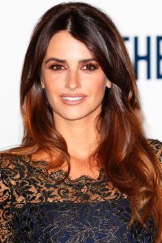 10 Ultra-Flattering Long Layer Hairstyles: Penelope Cruz