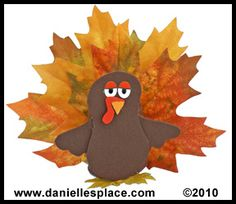 Thanksgiving Treat Holder Turkey Craft for Kids from www.daniellesplace.com