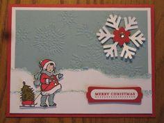 Christmas - winter card - bjl