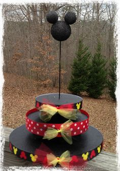 Mickey Mouse Cake pop stand