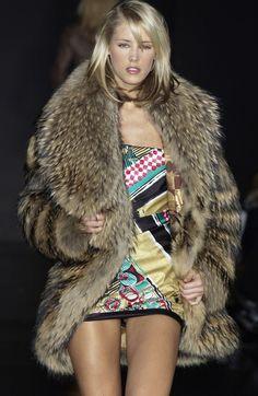 finnish raccoon fur coat stylebistro, fashion week