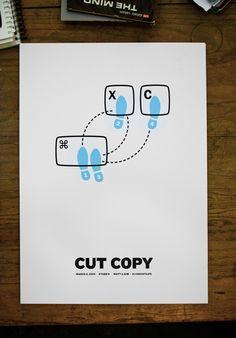 CUT COPY by Justin David Cox