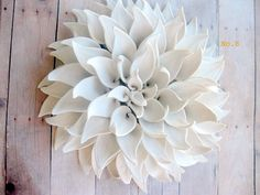 Set of Three LARGE Sized flowers of your choice by DillyPad, $180.00