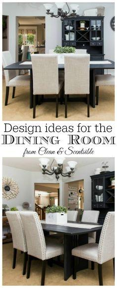 Dining room design ideas.