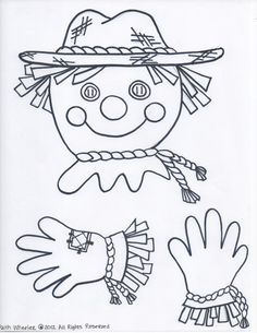 Free Scarecrow (Created to hold a paper)