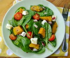 A wholesome, delicious autumnal salad. Ideal for a lunch or as an appetizer.