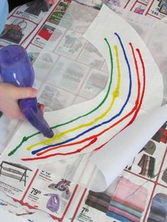 Rainbow Marker Art