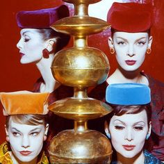 Pill Box Hats 1959