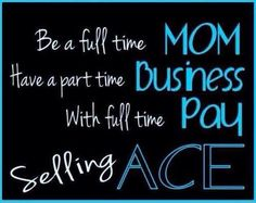 Join my saba/ACE team today for only $59 at http://jamiemc83.sababuilder.com