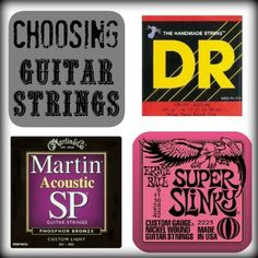 Choosing Guitar Strings - Play4TheWorld.com
