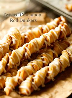 twisted cinnamon roll dunkers… YUM!