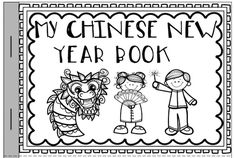 My Chinese New Year Booklet >> Color pictures of Chinese New Year objects and trace the words >> Part of the Chinese New Year 2014 packet