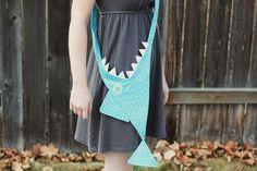 shark purse DIY via A Beautiful Mess.