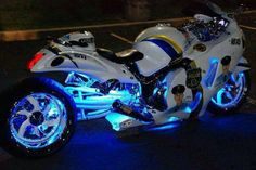Suzuki Hayabusa equipped with our Alien Head™ Exhaust System.   Find out more : http://www.brocksperformance.com/Alien-Head+C246.aspx