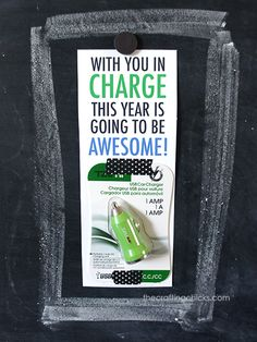 Back to School USB Charger Teacher Gift