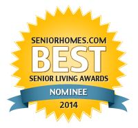 LeadingAge is a nominee in the SeniorHomes.com Best Senior Living Awards 2014