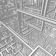 A beautifully drawn network by #HongKong based #illustrator, #PeteWong...