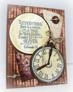 Stamps - God'sTiming, ODBD Rustic Beauty Paper Collection, ODBD Custom Matting Circles Dies,ODBD Custom Circle Ornament Die