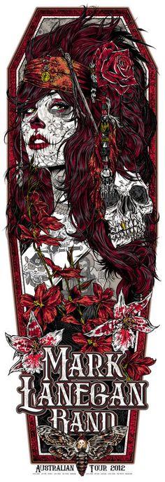 Mark Lanegan Band - Rhys Cooper - 2012 ----