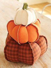 Pumpkin Trio Sewing Pattern - Electronic Download