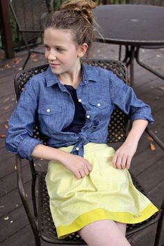 What to Wear to Middle School. Click through for 5 outfits.  |  Design Mom