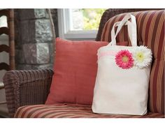 Doll up a canvas tote for a great gift